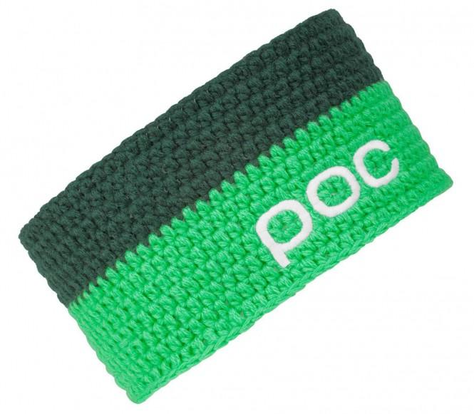 POC - Crochet Headband (dunkelgrün/grün)