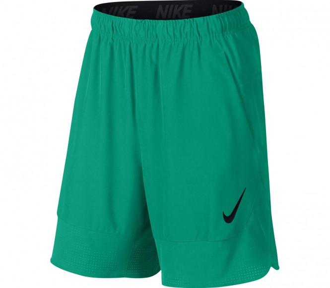Nike - 8 Inch Flow Woven Hommes formation de courte (vert) - S