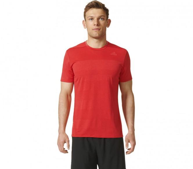 adidas Men's Supernova Running T-Shirt Red M