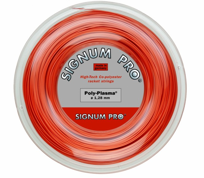 cordages de tennis - SIGNUM PRO POLY PLASMA 200M 1,33MM