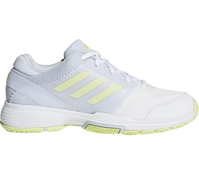 Adidas - Barricade Club Damen Tennisschuh (hellgrau/gelb) - EU 39 1/3 - UK 6