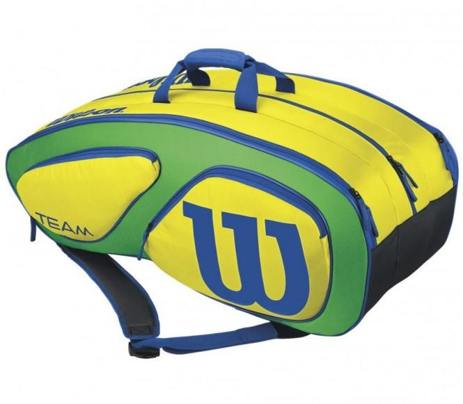 Team Rio 12 Tennistasche (hellgrün/dunkelgrün)