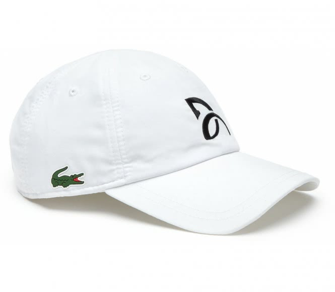 Lacoste - Fan Tenniscap (weiß)