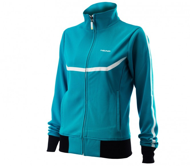 Head Atlas Knit Damen Tennisjacke (blau) - XS