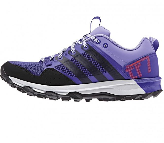 Adidas Kanadia 7 Trail dam löparskor (lila/svart) EU 40 UK 65