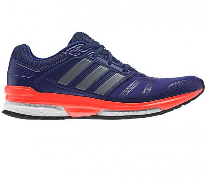 Adidas Revenge Boost 2 Techfit löparskor för män (mörklila) EU 43 1/3 UK 9