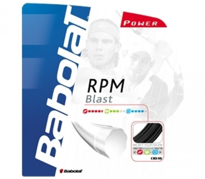 cordages de tennis - BABOLAT RPM BLAST 12M 1,30 MM