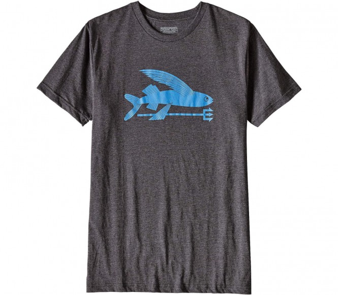 <strong>Patagonia</strong> flying fish t shirt logo pour hommes noirbleu s 30