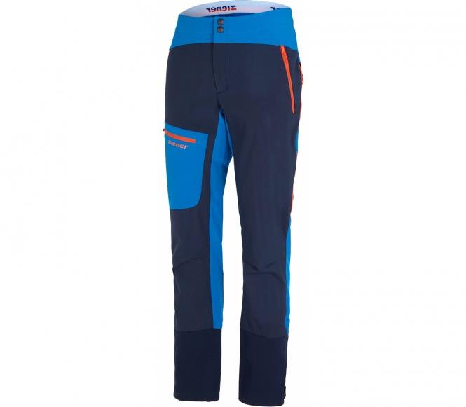 Ziener - Narek Hommes Softshell Pantalons (bleu) - 48