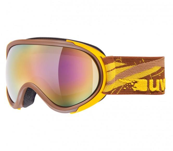 Uvex G.GL 7 Herr Skid- och Snowboardglasögon (brun/gul)