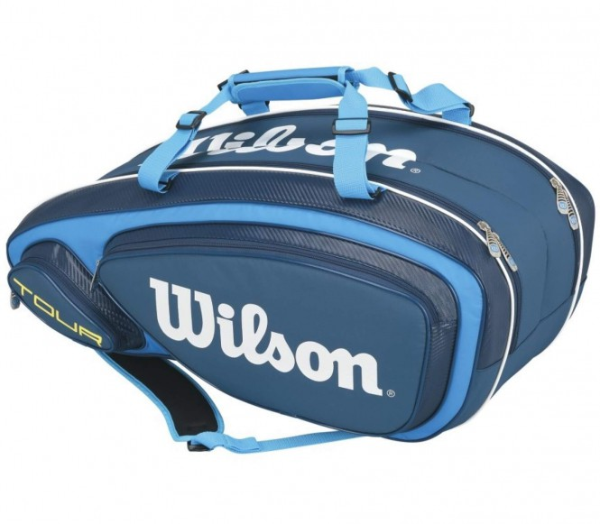Tour V 9Pk Bag Tennistasche (blau/hellblau)