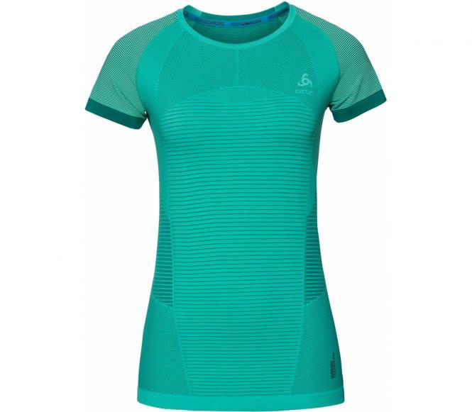 Ceramicool Motion BL Top Crew Neck Shortsleeve Damen Trainingsshirt (grün) - L