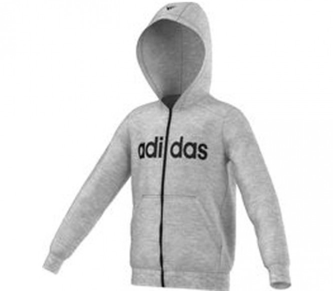 adidas Performance Sweatvesten medium grey/black