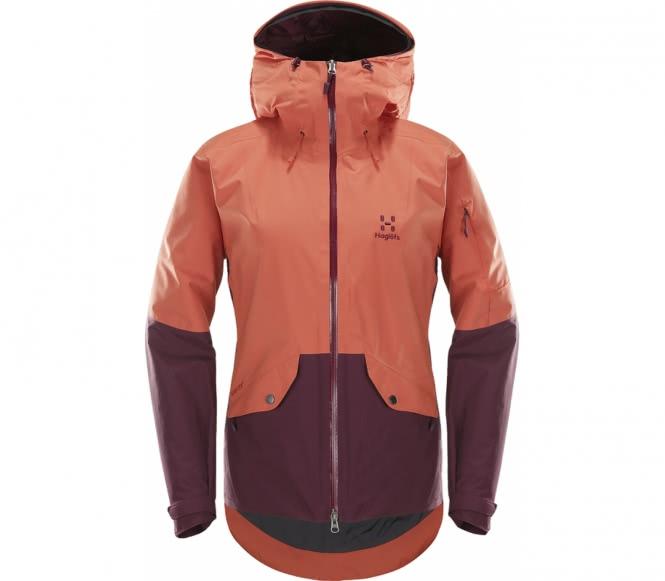 Haglöfs - Khione Insulated Femmes Manteau de ski (pourpre) - M rouge