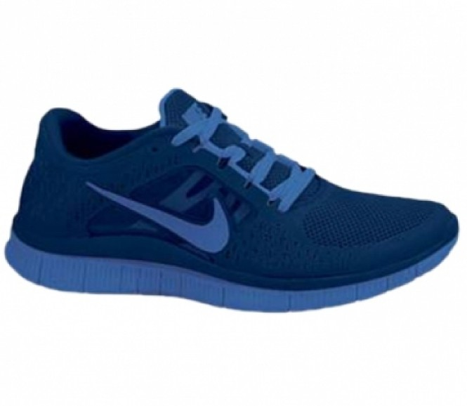 nike laufschuh free run 3 blau ho12 running. Black Bedroom Furniture Sets. Home Design Ideas