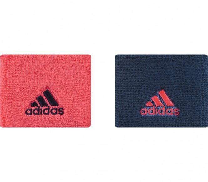 Adidas - Schweißband S (rot/dunkelblau)