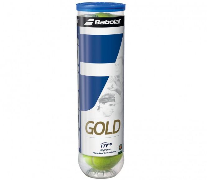 Balles de tennis accessoires - BABOLAT GOLD 4 BALLES