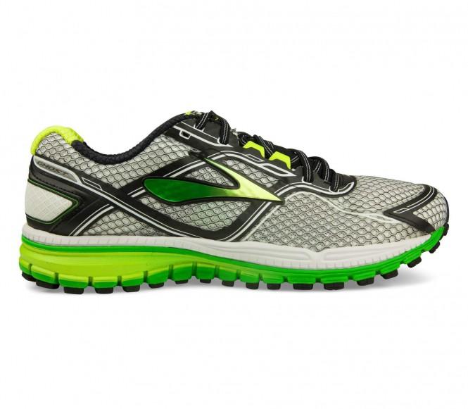 Brooks - Ghost 8 Hombre Zapatos para correr (gris/verde)
