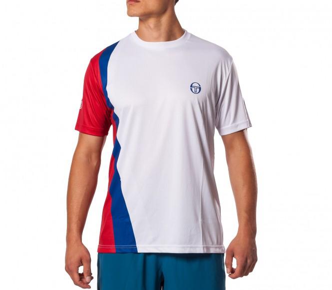 Sergio Tacchini- Barca T-Shirt vit L
