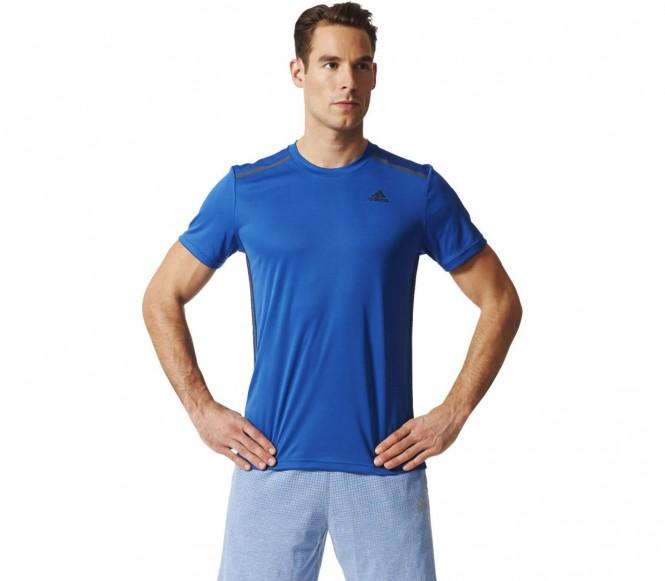 Adidas Clima 365 Tee Heren Trainingsshirt L donker blauw