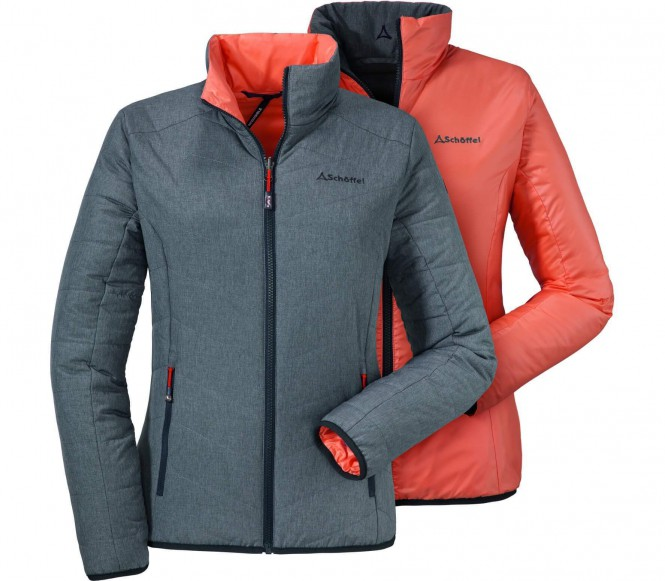 Ventloft Jacket Salzburg Damen Isolationsjacke (grau/orange) - 40