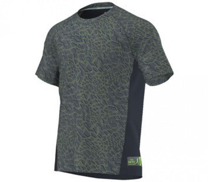 Adidas Aktiv Shorts Sleeve Herr Löpartröja (mörkblå) M