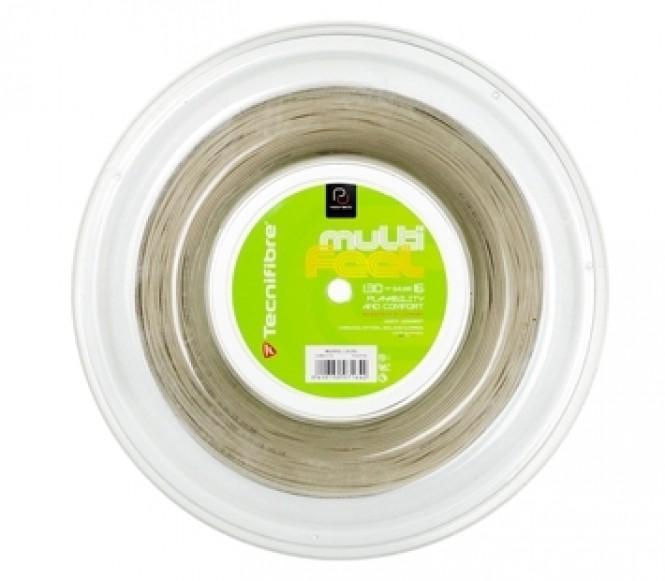 cordages de tennis - TECNIFIBRE MULTIFEEL 200M 1,30MM
