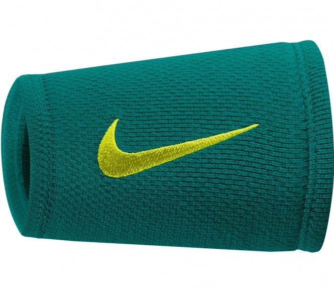Nike - Dri-Fit Stealth Doublewide Wristbands (g...