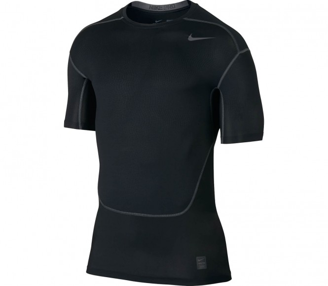 Nike - Pro Hypercool Compression Crew Heren Training Shirt - S