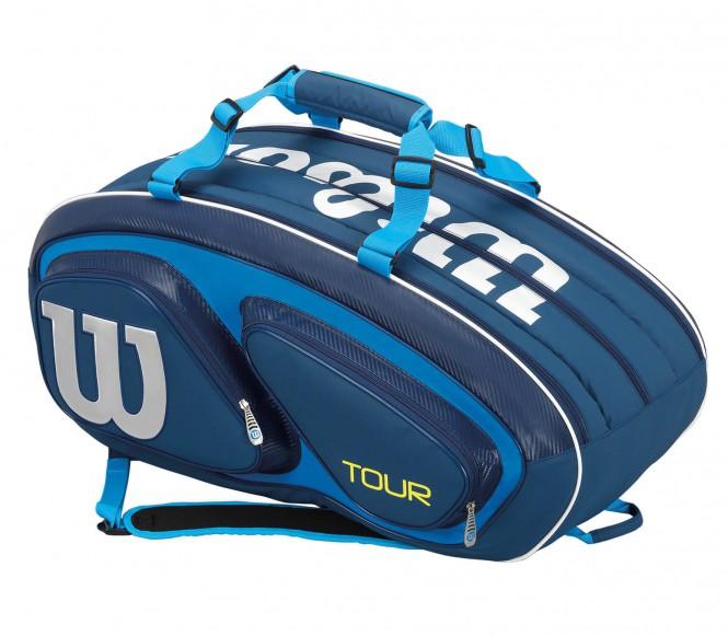 Tour V 15Pk Bag Tennistasche (blau/hellblau)