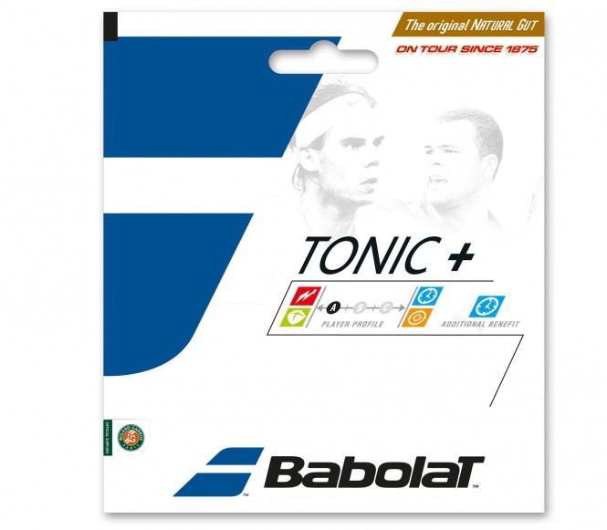 cordages de tennis - BABOLAT TONIC BALL FEEL BT7 12M  1,35MM