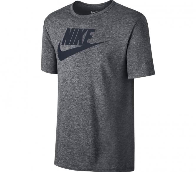 Icon Futura Herren T-Shirt (grau/schwarz) - L