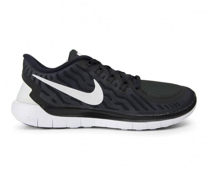 Nike Free 5.0 löparskor för män (svart/vit) EU 42 US 85