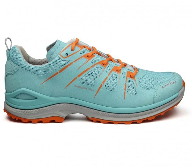 Lowa innox evo lo chaussures de randonnée pour femmes bleu clairorange eu 39 uk 55