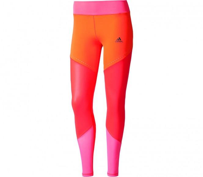 adidas Ultimate Lange Legging, Rood, XS, Female, Training