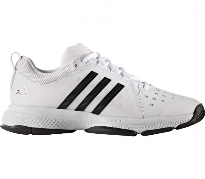 Adidas Barricade Classic Bounce Synthetic Heren Tennis schoen (wit-zwart) EU 45 1-3 UK 10,5