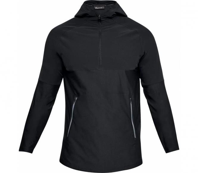 Under Armour - Threadborne Vanish Popover sweat à capuche de training pour hommes (noir/gris) - XL