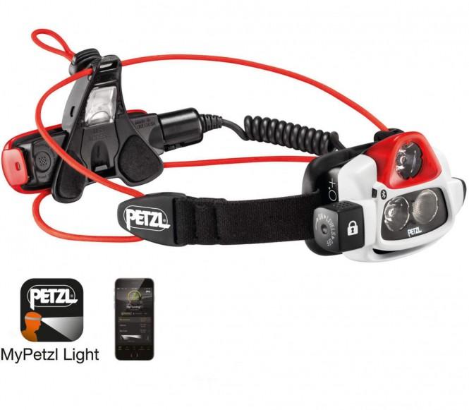 Petzl - NAO Stirnlampe (schwarz/weiß)