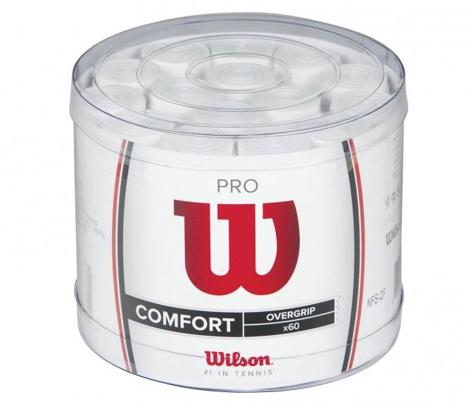 Wilson - Pro Overgrip - 60 Stück (weiß)