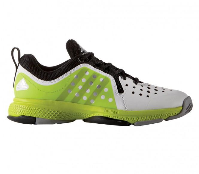 best service 7b83c f5d0e Adidas - Barricade Classic Bounce Mænd Tennis Shoe (limehvid) - EU 48