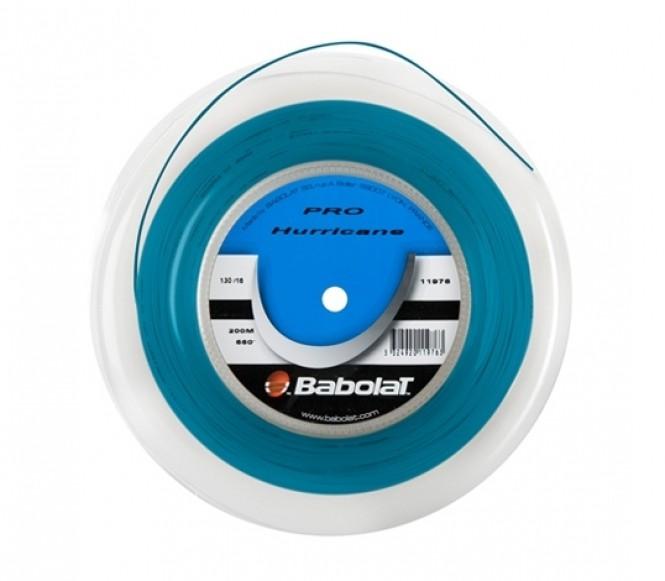 cordages de tennis - BABOLAT PRO HURRICANE BLEU 200M 1,25MM