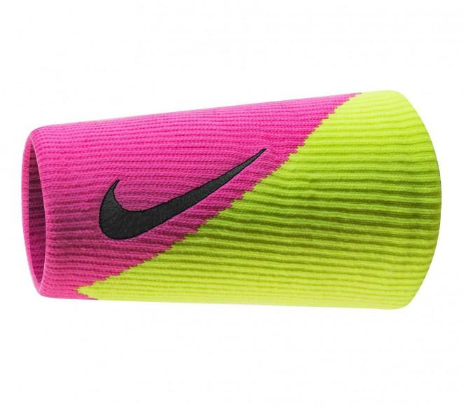 Nike Dri-Fit Doublewide Armband 2.0 (grön/pink)