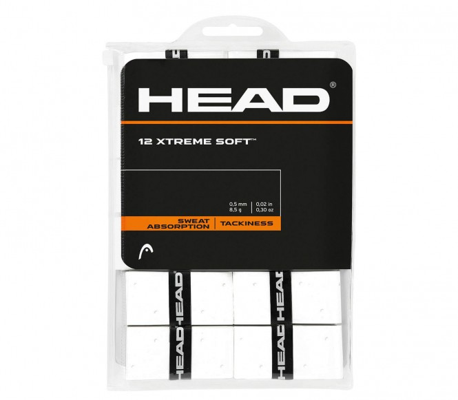 Head - Xtreme Soft 12er Grip (weiß)