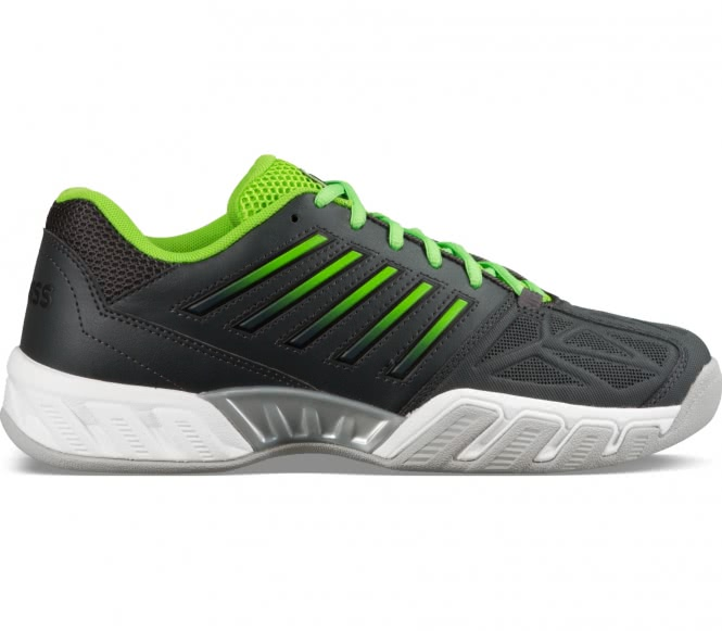 Bigshot Light 3 Carpet Herren Tennisschuh (schwarz/grün) - EU 43 - UK 9