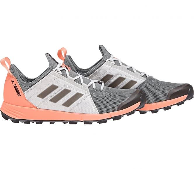 Terrex Agravic Speed Damen Mountain Running Schuh (grau/orange) - EU 42 - UK 8
