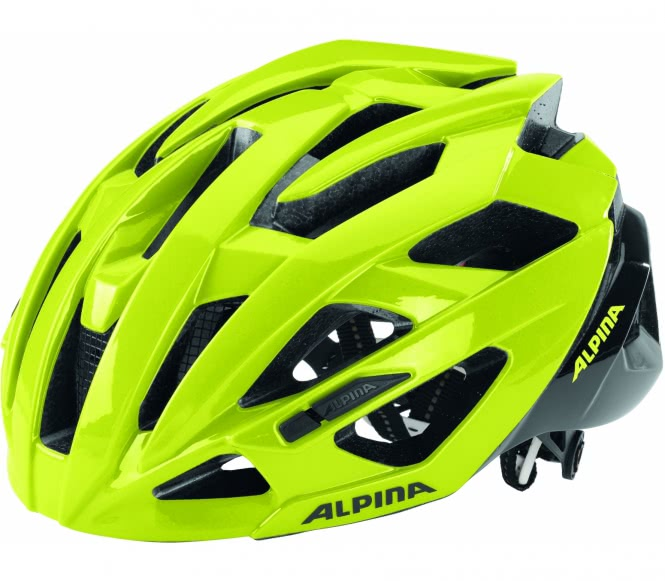Alpina - Valparola RC Bike Helm (schwarz/grün) ...
