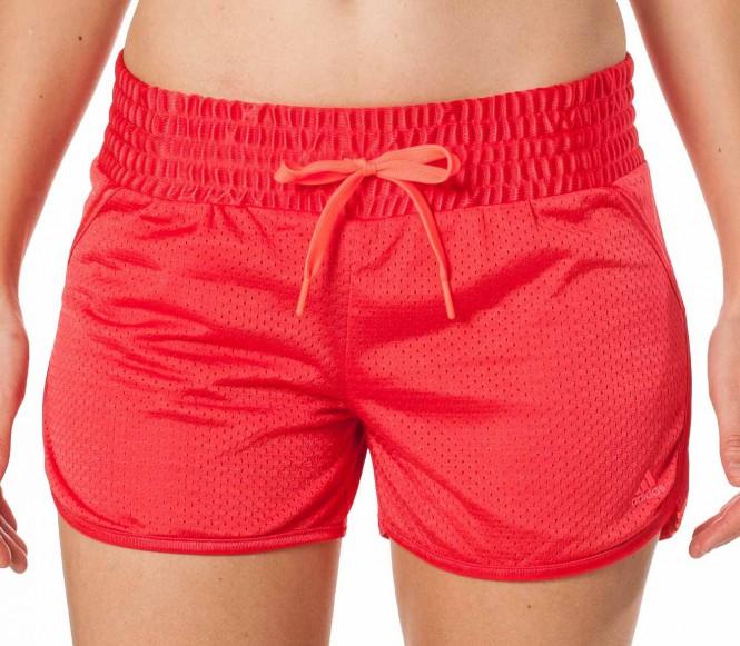 Adidas Fitness- en Trainingsbroek Heren Separate Broek 3 Stripes Mesh XL rood