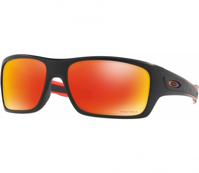 Oakley - Turbine Bike Brille (schwarz/orange)