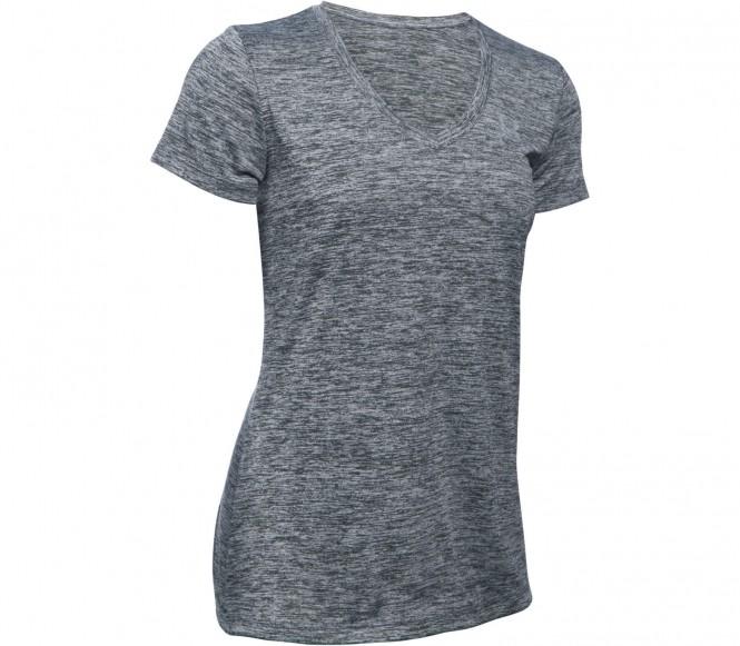 Under Armour - Tech Shortsleeve V-Neck Twist Dames Trainingsshirt