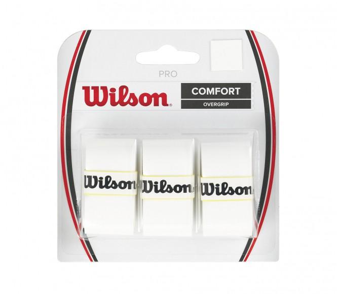 Wilson - Pro Overgrip - 3 Stück (weiß)